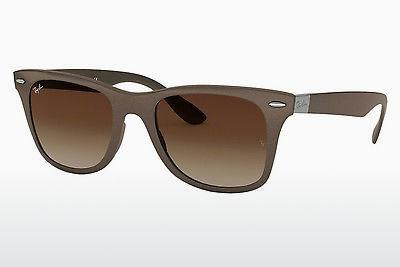 Solglasögon Ray-Ban WAYFARER LITEFORCE (RB4195 603313) - Brun