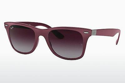 Solglasögon Ray-Ban WAYFARER LITEFORCE (RB4195 60874Q) - Grå, Purpur