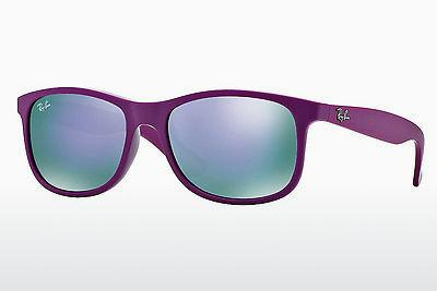 Solglasögon Ray-Ban ANDY (RB4202 60714V) - Purpur
