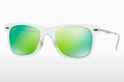 Solglasögon Ray-Ban RB4210 646/3R - Vit, Transparent