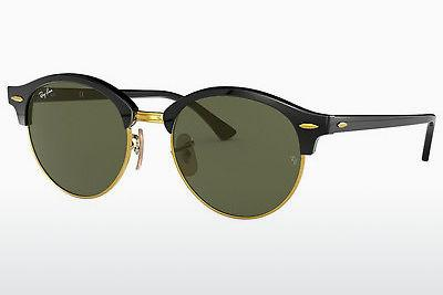 Solglasögon Ray-Ban Clubround (RB4246 901) - Svart