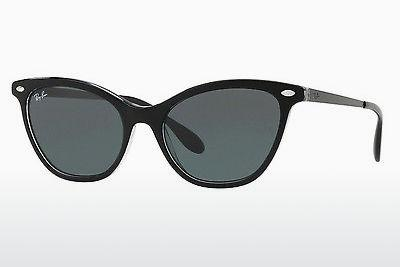 Solglasögon Ray-Ban RB4360 919/71 - Svart, Transparent