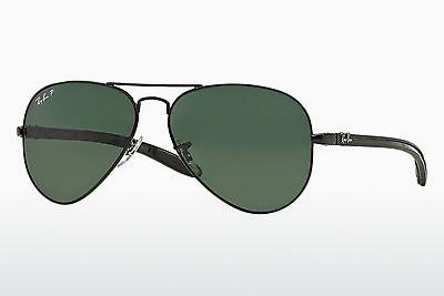 Solglasögon Ray-Ban AVIATOR TM CARBON FIBRE (RB8307 002/N5) - Svart