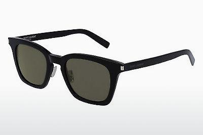 Solglasögon Saint Laurent SL 138/F SLIM 001 - Svart