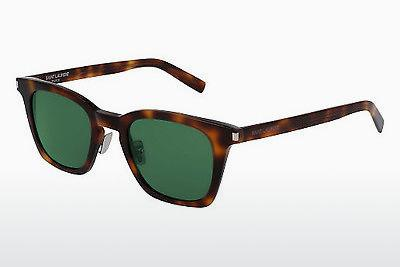 Solglasögon Saint Laurent SL 138 SLIM 002 - Brun, Havanna