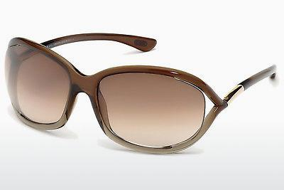Solglasögon Tom Ford Jennifer (FT0008 38F) - Brun