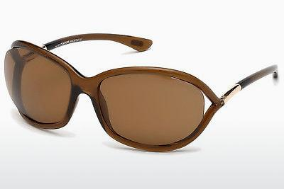 Solglasögon Tom Ford Jennifer (FT0008 48H) - Brun