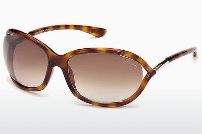 Solglasögon Tom Ford Jennifer (FT0008 52F) - Brun, Dark, Havana