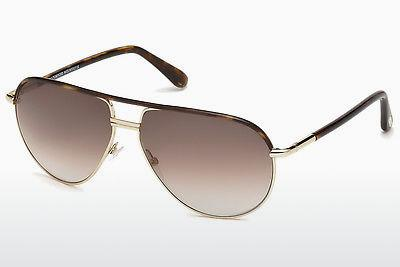 Solglasögon Tom Ford Cole (FT0285 52K) - Brun, Dark, Havana