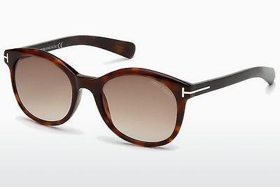 Solglasögon Tom Ford Riley (FT0298 52F) - Brun, Dark, Havana