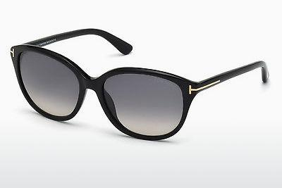 Solglasögon Tom Ford Karmen (FT0329 01B) - Svart, Shiny