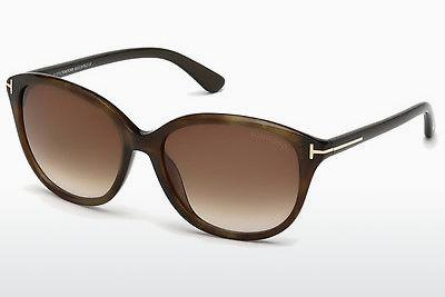Solglasögon Tom Ford Karmen (FT0329 50P) - Brun, Dark