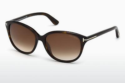 Solglasögon Tom Ford Karmen (FT0329 52F) - Brun, Dark, Havana