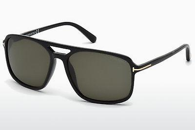 Solglasögon Tom Ford Terry (FT0332 01B) - Svart, Shiny