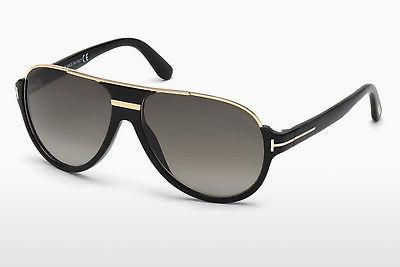 Solglasögon Tom Ford Dimitry (FT0334 01P) - Svart, Shiny