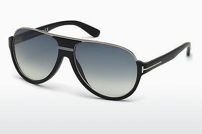 Solglasögon Tom Ford Dimitry (FT0334 02W) - Svart, Matt