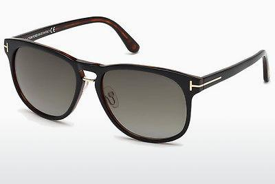 Solglasögon Tom Ford Franklin (FT0346 01V) - Svart, Shiny