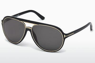 Solglasögon Tom Ford Sergio (FT0379 01A) - Svart, Shiny