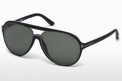 Solglasögon Tom Ford Sergio (FT0379 02R) - Svart, Matt