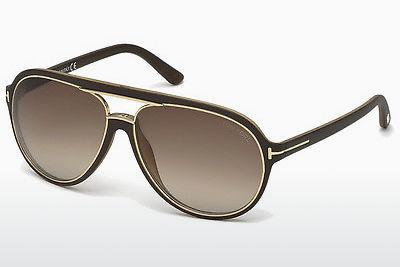 Solglasögon Tom Ford Sergio (FT0379 50K) - Brun