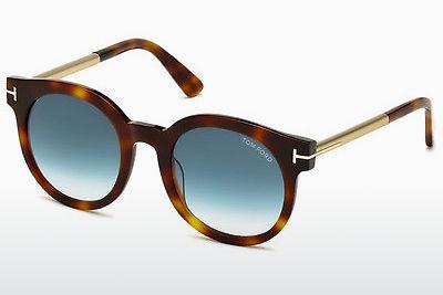 Solglasögon Tom Ford Janina (FT0435 52P) - Brun, Dark, Havana