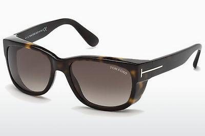 Solglasögon Tom Ford Carson (FT0441 52K) - Brun, Dark, Havana