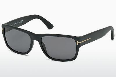 Solglasögon Tom Ford Mason (FT0445 02D) - Svart, Matt