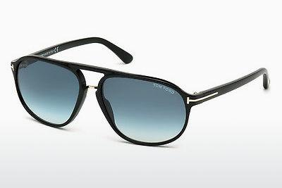 Solglasögon Tom Ford Jacob (FT0447 01P) - Svart