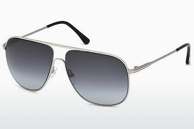 Solglasögon Tom Ford Dominic (FT0451 16W) - Silver, Shiny, Grey
