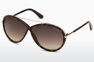 Solglasögon Tom Ford Tamara (FT0454 52K) - Brun, Dark, Havana
