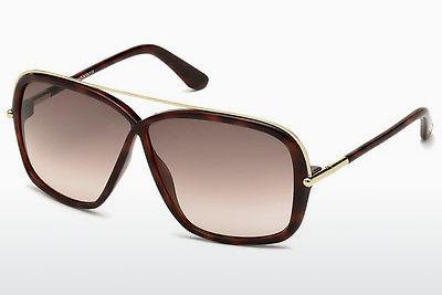 Solglasögon Tom Ford Brenda (FT0455 52F) - Brun, Dark, Havana