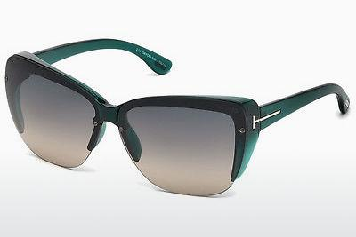 Solglasögon Tom Ford FT0457 87B - Blå, Turquoise, Shiny