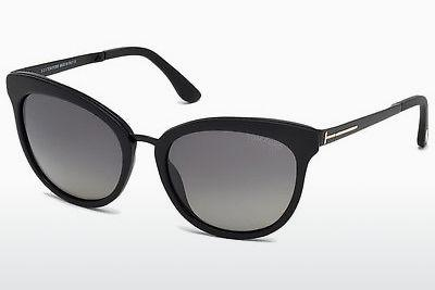 Solglasögon Tom Ford Emma (FT0461 02D) - Svart, Matt