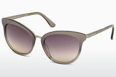 Solglasögon Tom Ford FT0461 59B - Beige/grå, Beige, Brown