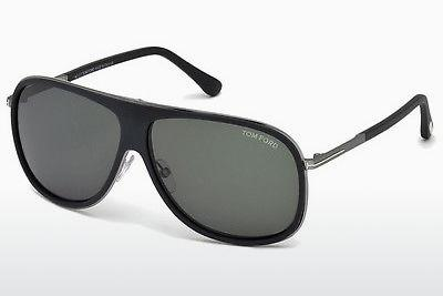 Solglasögon Tom Ford FT0462 02N - Svart, Matt