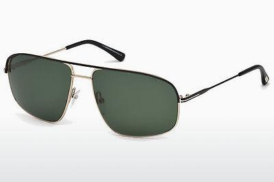 Solglasögon Tom Ford Justin Navigator (FT0467 02N) - Svart, Matt