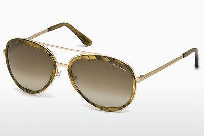 Solglasögon Tom Ford FT0468 41K - Gul
