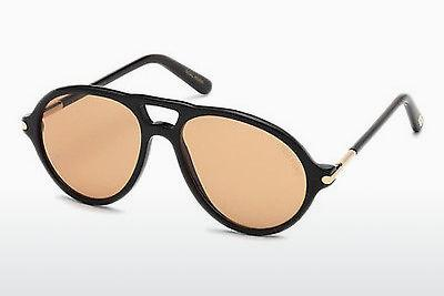 Solglasögon Tom Ford Tom N.10 (FT0491-P 63E) - Brun, Ivory, Black