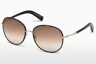Solglasögon Tom Ford Georgia (FT0498 52F) - Brun, Dark, Havana