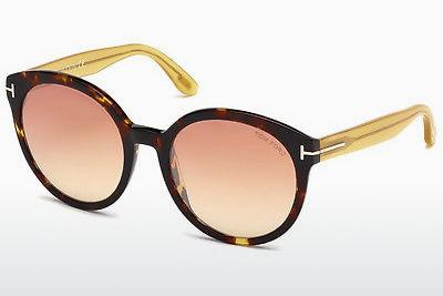 Solglasögon Tom Ford Philippa (FT0503 52Z) - Brun, Dark, Havana