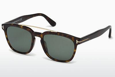 Solglasögon Tom Ford Holt (FT0516 52R) - Brun, Dark, Havana