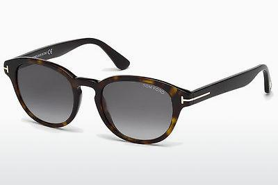 Solglasögon Tom Ford Von Bulow (FT0521 52B) - Brun, Dark, Havana