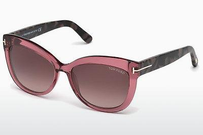 Solglasögon Tom Ford Alistair (FT0524 74T) - Rosa, Rosa