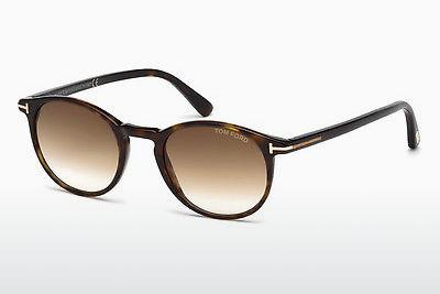 Solglasögon Tom Ford Andrea (FT0539 52F) - Brun, Dark, Havana