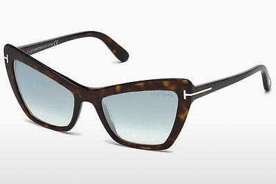 Solglasögon Tom Ford Valesca (FT0555 52X) - Brun, Dark, Havana