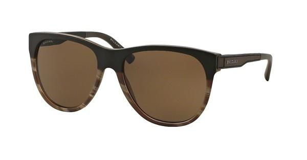 Bvlgari BV7025 535673 BROWNSAND BROWN ON HORN