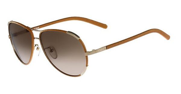 Chloé CE100SL 722 GOLD-LIGHT BROWN