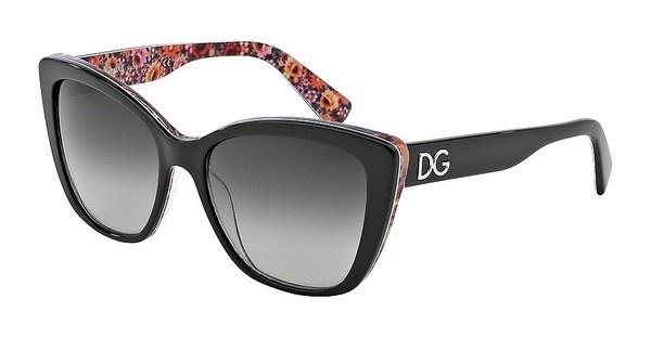 Dolce & Gabbana DG4216 27898G GREY GRADIENTTOP BLACK ON MOSAIC