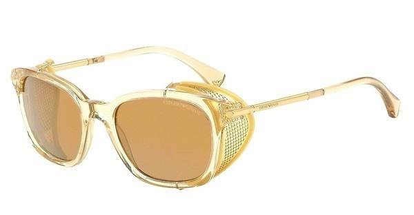 Emporio Armani EA4028Z 52076H BROWN MIRROR GOLDGOLD