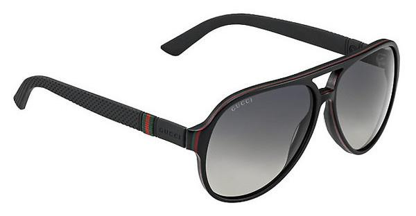 Gucci GG 1065/S 4UP/WJ GREY SF PZBLKREDGRN (GREY SF PZ)